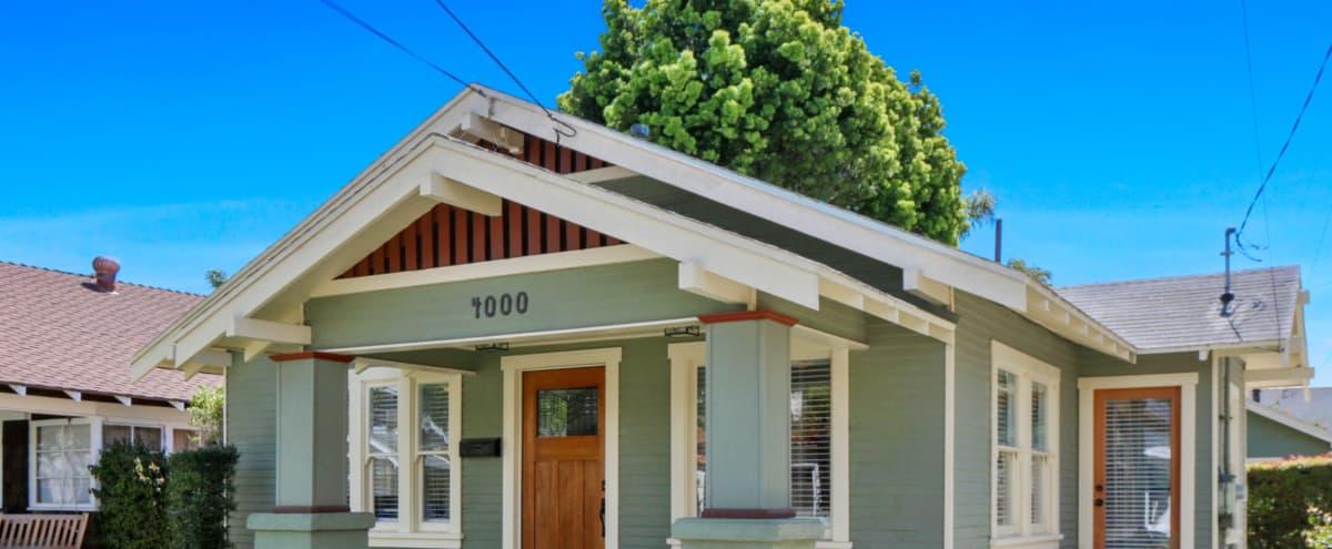 1922 California Craftsman House in Long Beach Hero Image in Belmont Heights, Long Beach, CA