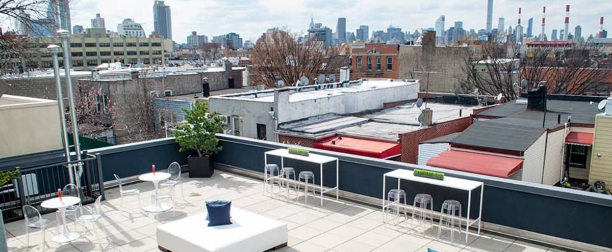 Rooftop Lounge Event Space and Deck in Long Island City Hero Image in Long Island City, Long Island City, NY