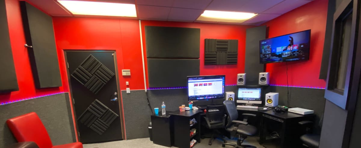 Large Recording Studio with Vocal Booth in Los Angeles Hero Image in North Hollywood, Los Angeles, CA