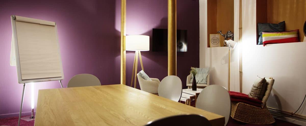 Salle de réunion pour 10 personnes proche métro Temple in paris Hero Image in Arts et Métiers, paris,