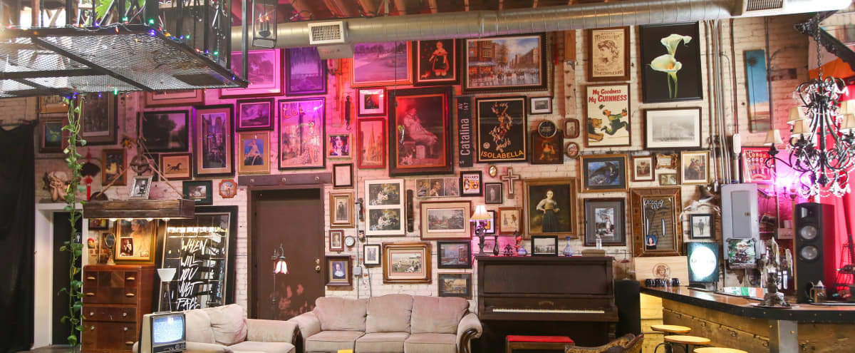 Swanky and eclectic artist's studio and gallery in Pomona Hero Image in undefined, Pomona, CA