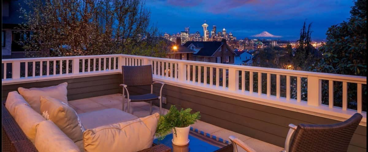 Urban Home with Expansive City Views in Seattle Hero Image in Queen Anne, Seattle, WA