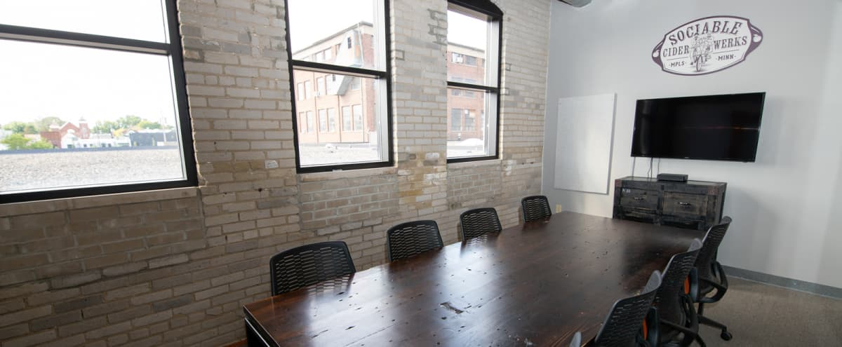 Creative Meeting Space w/ Exposed Brick - Northeast MPLS in Minneapolis Hero Image in Logan Park, Minneapolis, MN