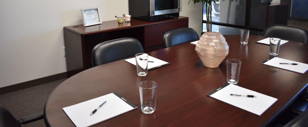 Small Conference Room in Sacramento Hero Image in Johnston Business Park, Sacramento, CA