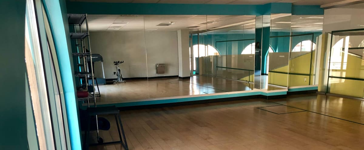Bright and airy fitness studio room in lower Westchester area in Tuckahoe Hero Image in undefined, Tuckahoe, NY