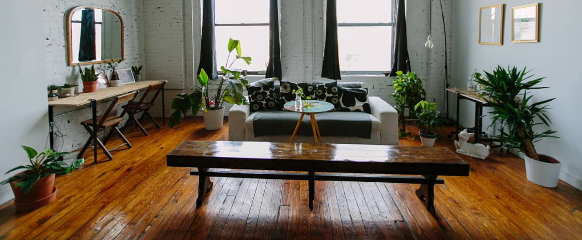 Spacious industrial loft space in Greenpoint in Brooklyn Hero Image in Greenpoint, Brooklyn, NY