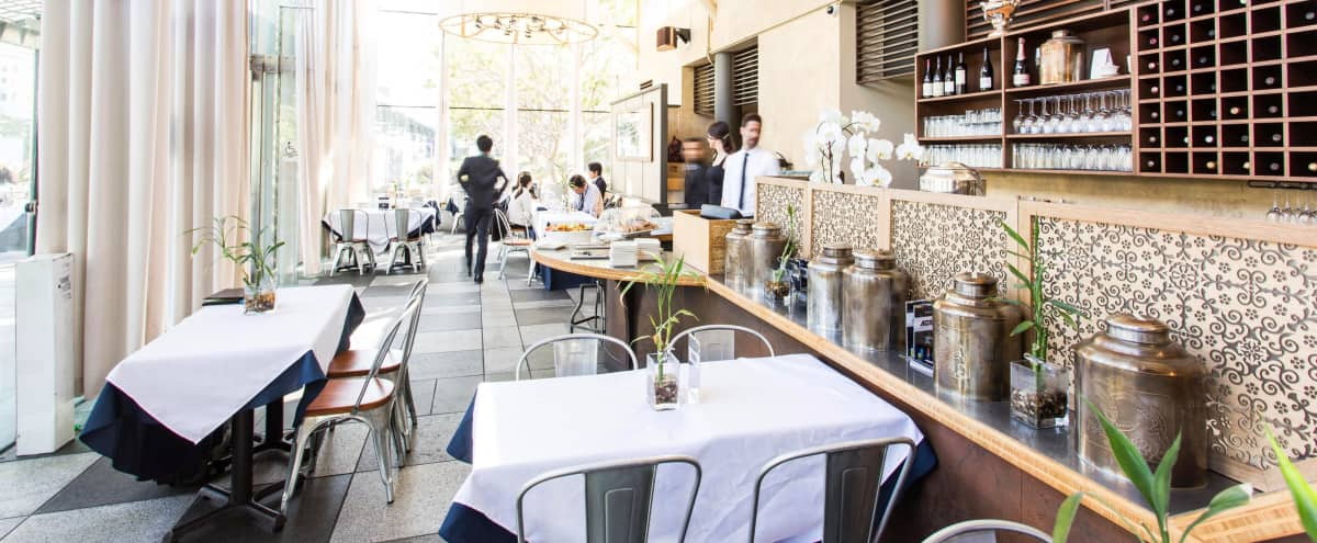 F&B Included - 1500ft² Downtown Indoor Outdoor Roof Space + Garden Skyline View in San Francisco Hero Image in South of Market, San Francisco, CA