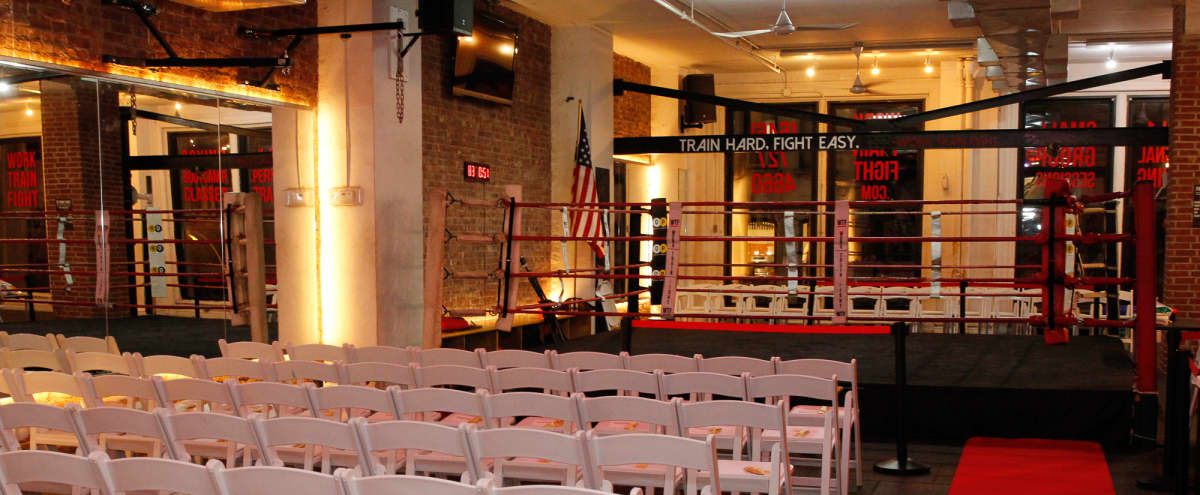 Beautiful boxing gym in Soho/Noho w/ Event equipment in New York Hero Image in NoHo, New York, NY