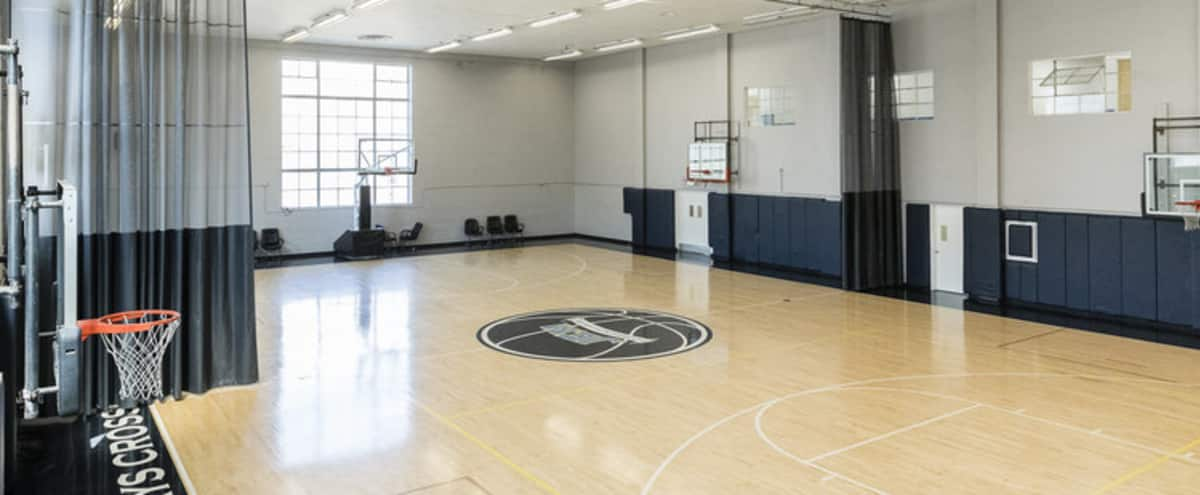 Basketball Court Indoor Nba Sized