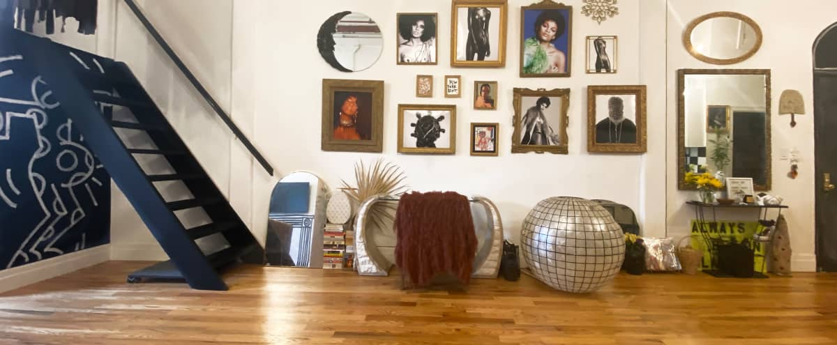 Designer Loft Studio in Brooklyn Hero Image in Bushwick, Brooklyn, NY
