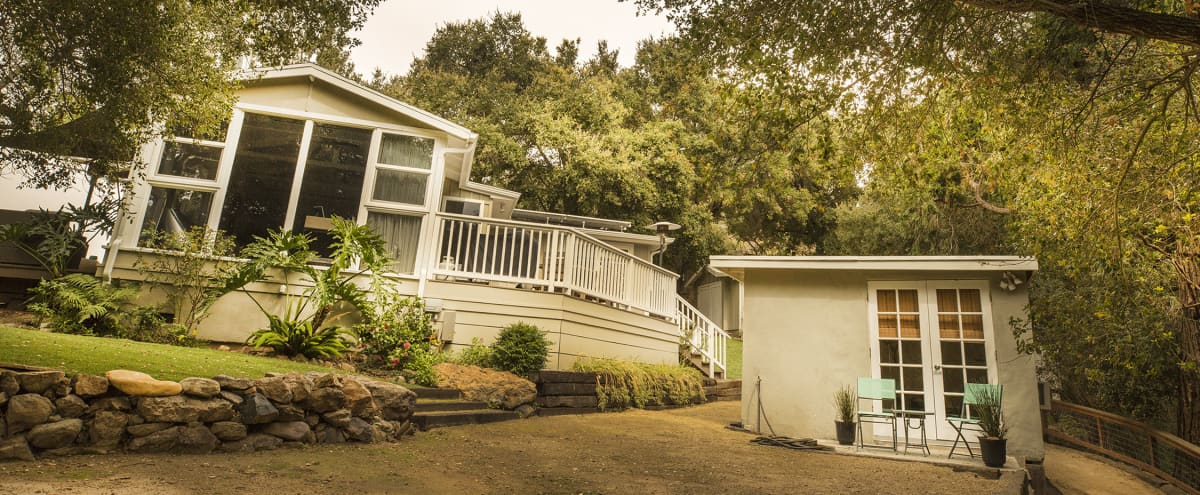 An Oasis from the city with this Quintessential Topanga Home in Topanga Hero Image in undefined, Topanga, CA