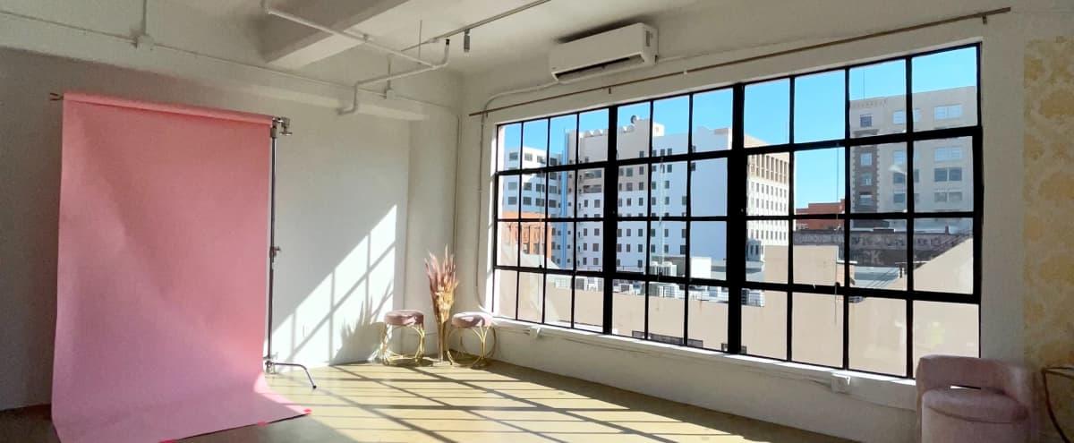 DTLA Studio With Amazing Natural Sunlight in Los Angeles Hero Image in Central LA, Los Angeles, CA