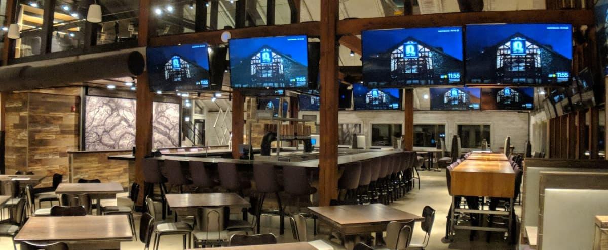 Spacious Restaurant with Contemporary Vibe in Alpharetta Hero Image in undefined, Alpharetta, GA
