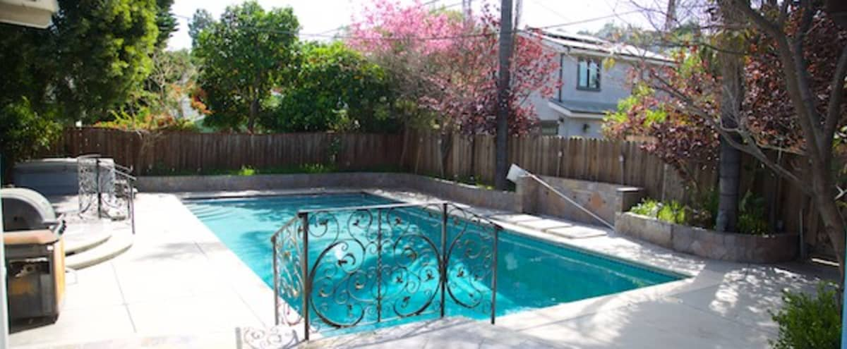 MID CENTURY LAUREL CANYON HOUSE - 8 feet deep, long pool in Studio City Hero Image in Studio City, Studio City, CA