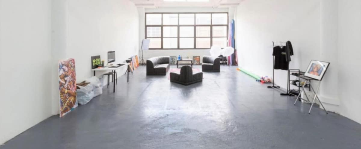 Sunny Spacious Industrial Loft for Events + Photo in Brooklyn Hero Image in Maspeth, Brooklyn, NY
