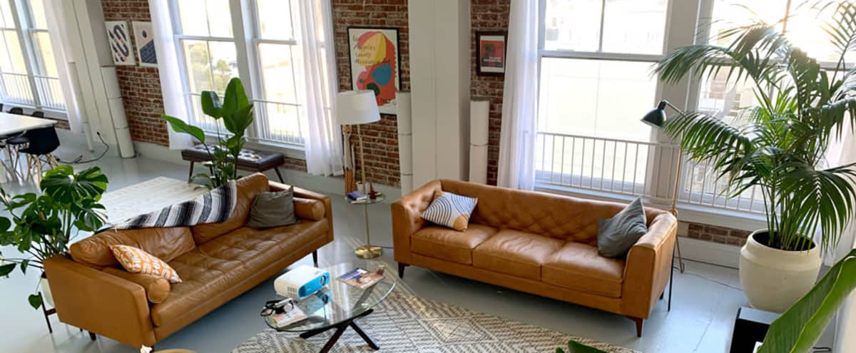 Historic Downtown Creative Loft with Multiple Backdrops and Beautiful Natural Light in Los Angeles Hero Image in Central LA, Los Angeles, CA