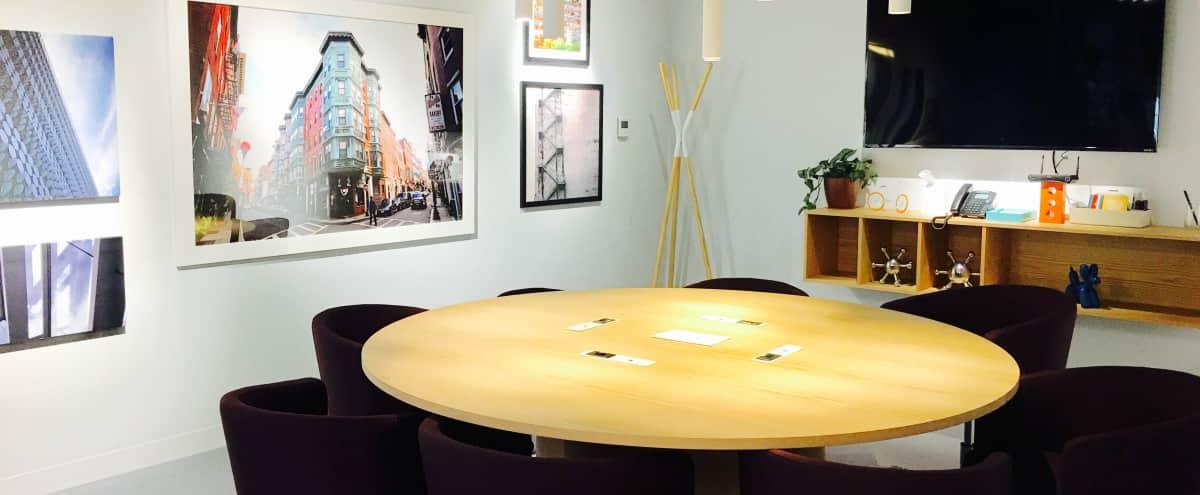 Beautifully Designed Meeting Room for 8 People -  Newbury Street in Boston Hero Image in Back Bay West, Boston, MA