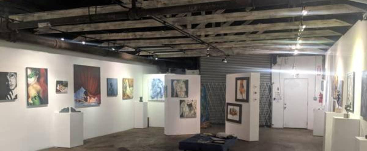 Beautiful Gallery Studio Space south of Downtown in San Diego Hero Image in Barrio Logan, San Diego, CA