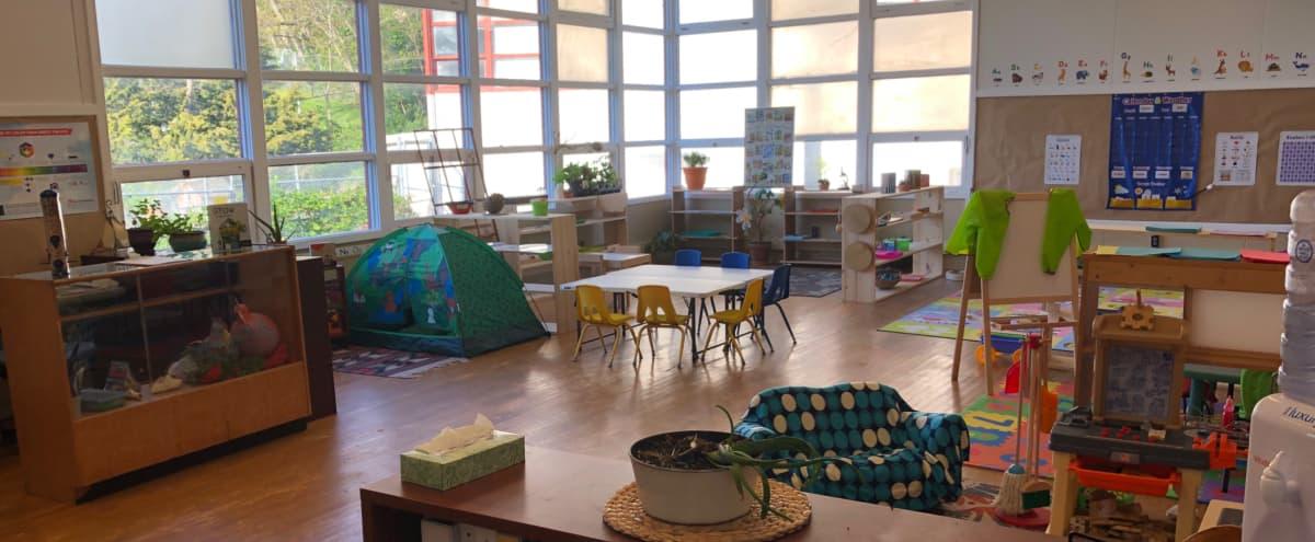 Columbia City light filled, Nature & Art Preschool Space in Seattle Hero Image in Columbia City, Seattle, WA