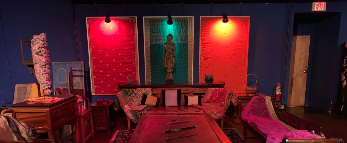 Buddha Bar Style Photoshoot Set in Santa Monica Hero Image in undefined, Santa Monica, CA