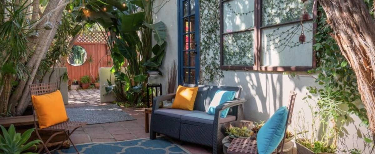 Bohemian Cottage with Natural Light and Dynamic Yard in Los Angeles Hero Image in Northeast Los Angeles, Los Angeles, CA