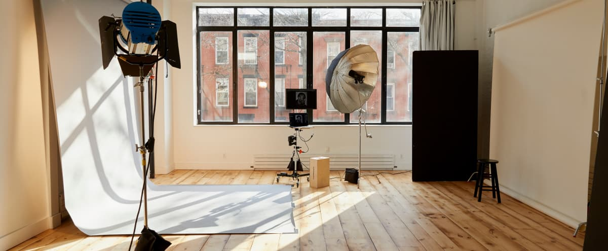 Prospect Studios: Daylight Photo and Video Studio Space in Prospect Heights in Brooklyn Hero Image in Prospect Heights, Brooklyn, NY