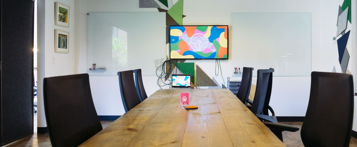 Creative 8-Person Meeting Room With Natural Light in Dallas Hero Image in South Dallas, Dallas, TX