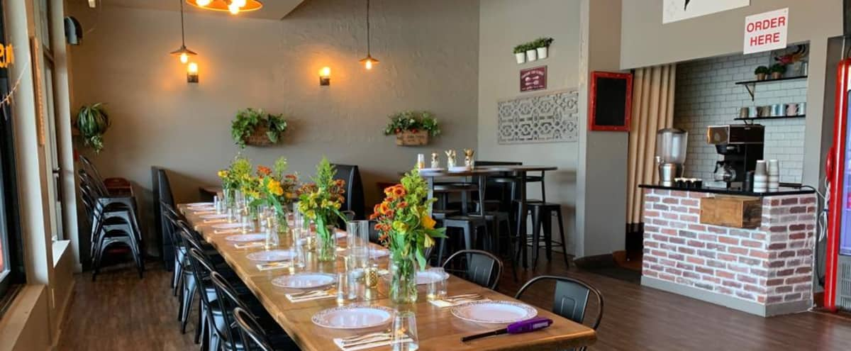 Secluded Restaurant w/Heated Patio & Food Truck area in San Mateo Hero Image in Beresford Park, San Mateo, CA