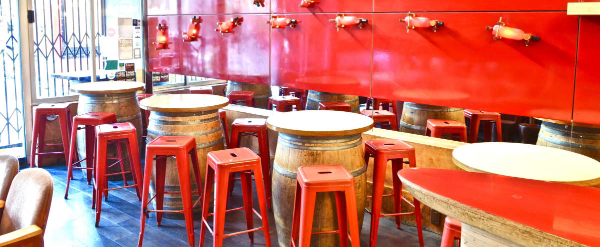 Semi-Private Event Space in Modern French Wine Bar in San Francisco Hero Image in Nob Hill, San Francisco, CA