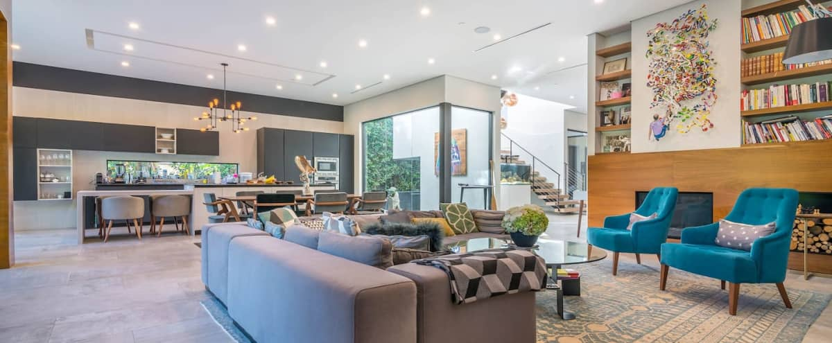 Hollywood Luxury Oasis House with pool and multi level terraces in Los Angeles Hero Image in Hollywood, Los Angeles, CA