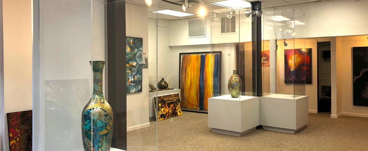 Light filled Contemporary Art Gallery Space perfect for events in New York Hero Image in Upper Manhattan, New York, NY