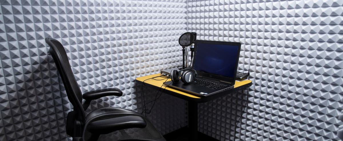 Podcast/Audio Recording Booth in Santa Cruz Hero Image in undefined, Santa Cruz, CA