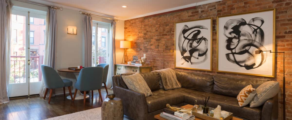 Contemporary Three Level Urban Cottage in Brooklyn Hero Image in Park Slope, Brooklyn, NY