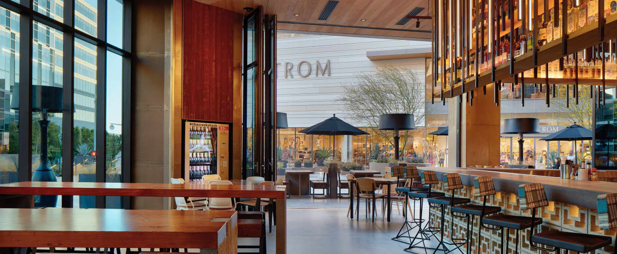 Trendy game-filled space serving farm to table in Los Angeles Hero Image in Century City, Los Angeles, CA