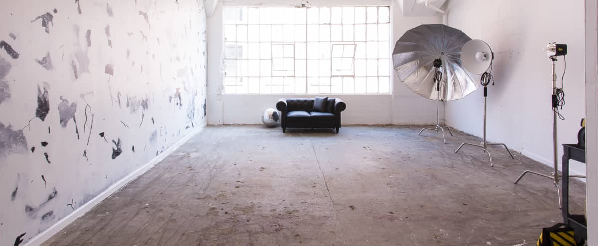 Studio 5 - Spacious Bright Stage with Art Wall & Large Disco Ball in Long Island City Hero Image in Long Island City, Long Island City, NY