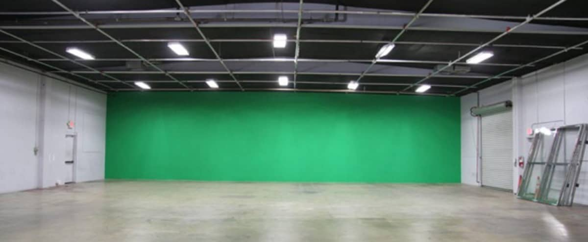 North Hollywood Green Screen Film Production Studio – 7000 sq. ft. – Includes Power & AC in North Hollywood Hero Image in Valley Glen, North Hollywood, CA
