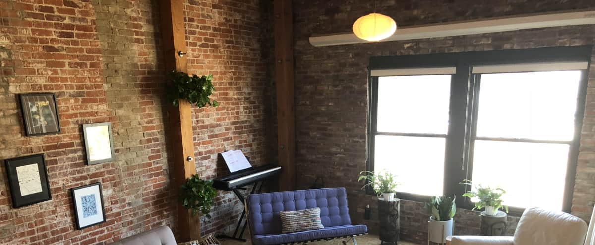 Arts District Loft w/ Sky Light and Exposed Brick in Los Angeles Hero Image in Central LA, Los Angeles, CA