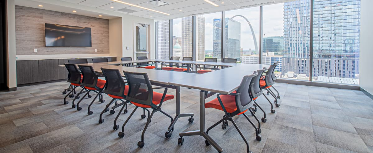Downtown Meeting Room & Event Space with View of Busch Stadium in St. Louis Hero Image in Downtown, St. Louis, MO