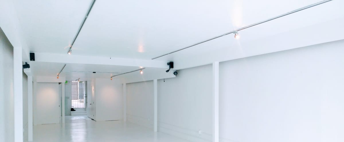 Gloss White Gallery Space located on Fairfax Ave in Los Angeles Hero Image in Little Ethiopia, Los Angeles, CA