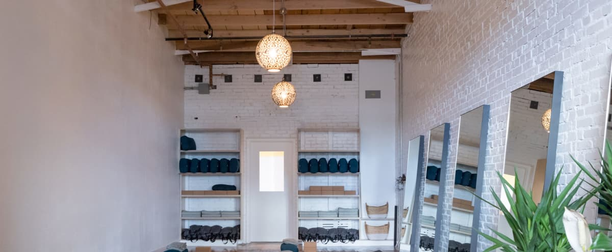 Beautifully restored vintage yoga studio, incredibly intimate and curated with the intention to heal. in Denver Hero Image in Berkeley, Denver, DE