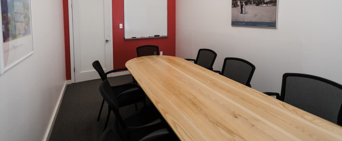 8-Person Private Conference/Classroom (#13) in New York Hero Image in Midtown, New York, NY