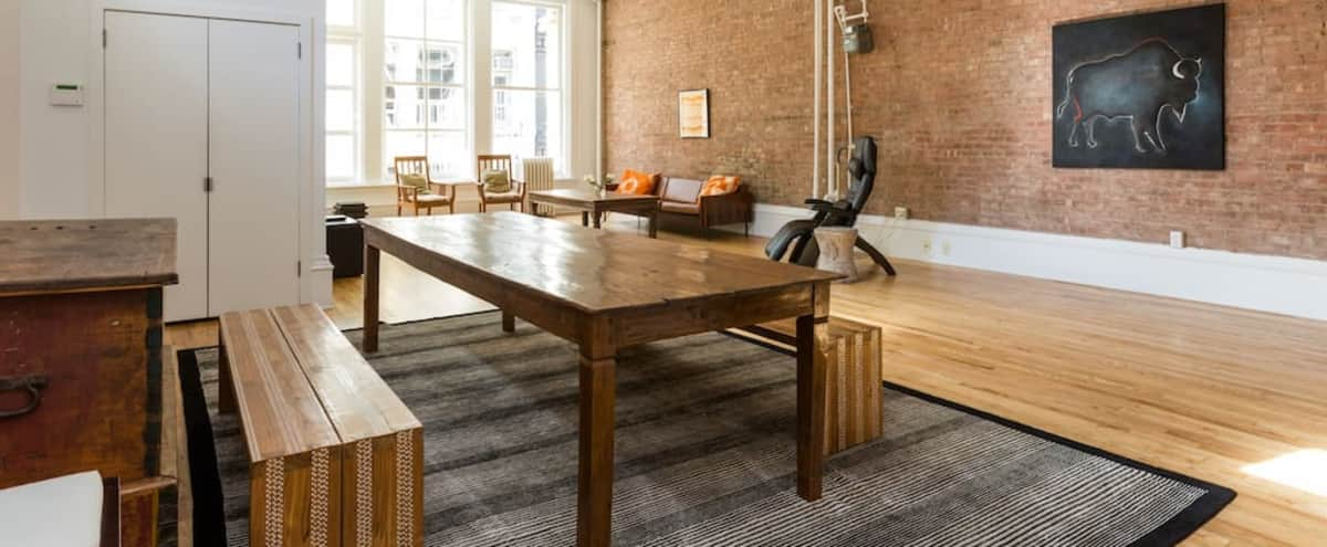 Prime SoHo Luxury Loft Off-Site/Meeting Space in New York Hero Image in Lower Manhattan, New York, NY
