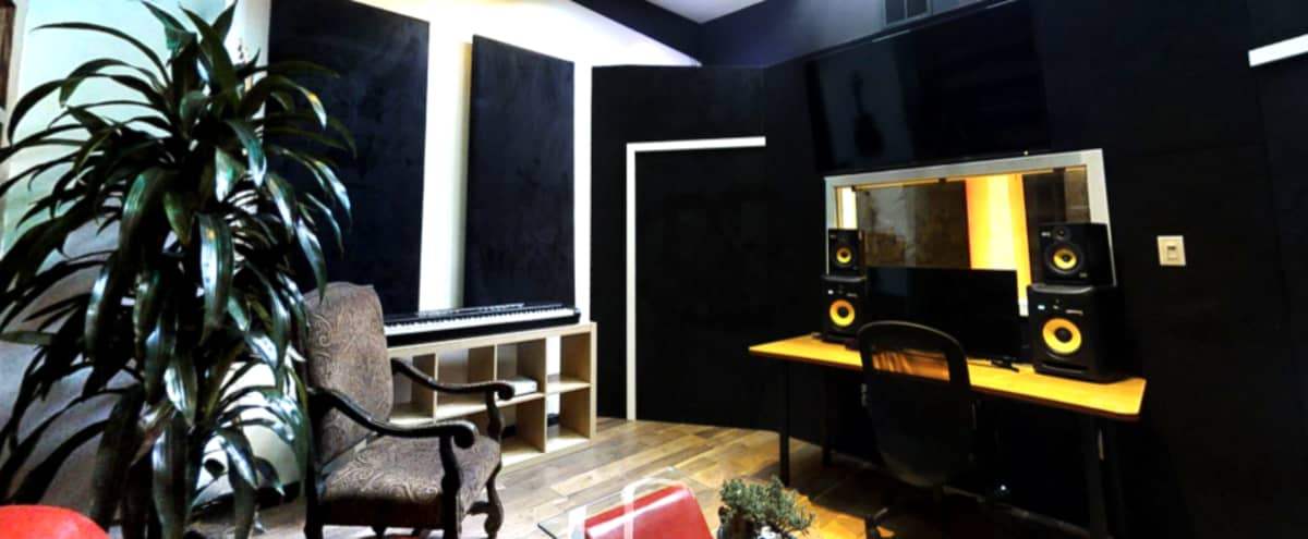 Recording studio skylit, sound-proof recording live-room located Hollywood,CA in LOS ANGELES Hero Image in Central LA, LOS ANGELES, CA