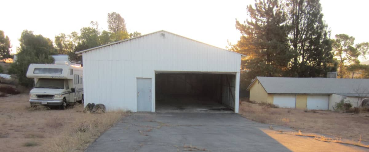 Budget Friendly 29 acres,Desert Area, Fields,2 Warehouses,36'x 24'Studio,50s Ranch House,2 Lg Hill Tops w/flatten tops,500' Dirt Road,200' Paved Road,Box Truck Accesses To Hills'PICTURE CARS & RV AVAILABLE in Agua Dulce Hero Image in undefined, Agua Dulce, CA