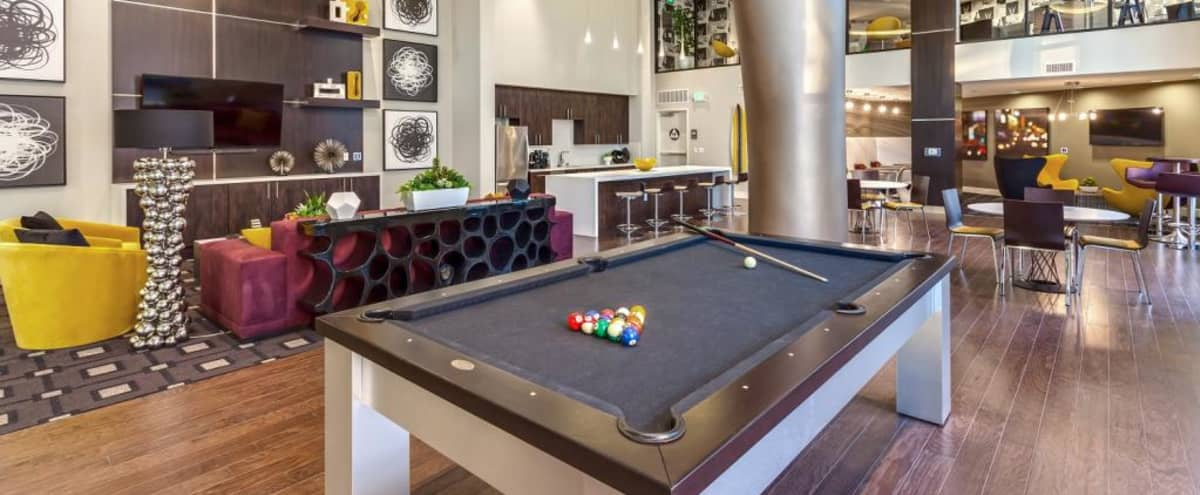 Spacious Event Space with High Ceilings, Gourmet Kitchen, and Games for Entertaining in Glendale Hero Image in Tropico, Glendale, CA