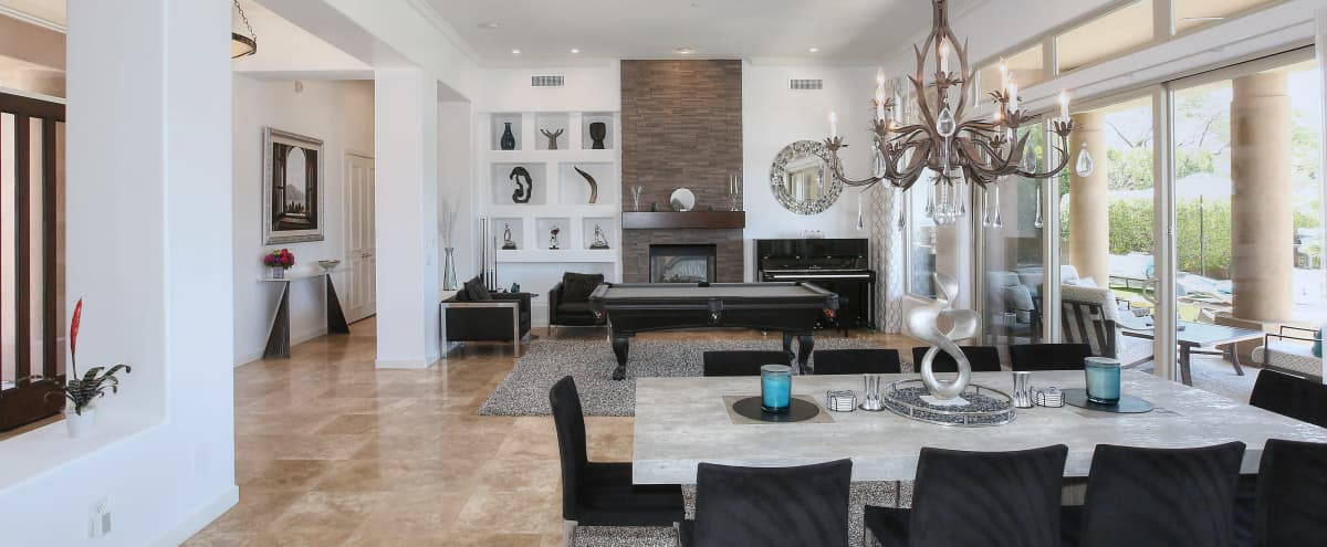 Desert Paradise: Modern Luxe Home w/ Spectacular VIEWS! in Scottsdale Hero Image in McDowell Mountain Ranch, Scottsdale, AZ