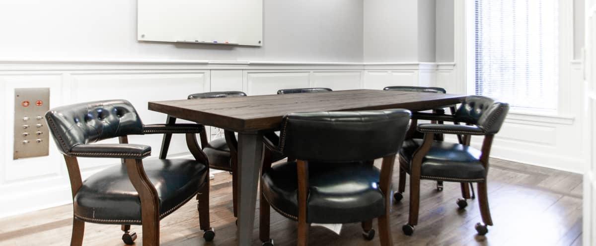 Private Meeting Room for 6 at The Gaslight Building in Washington Hero Image in Northwest Washington, Washington, DC