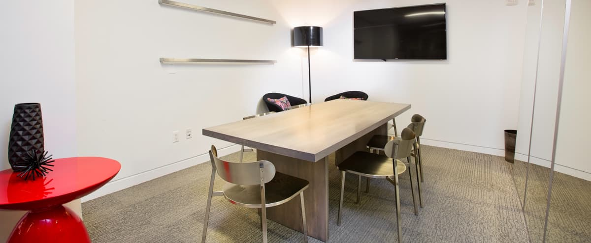 NYC Midtown - Professional Meeting Room Tech Equipped - The Mezz in New York Hero Image in Midtown, New York, NY