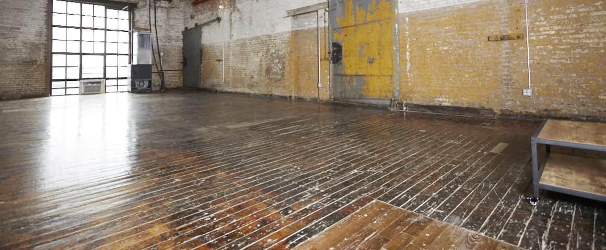 Brooklyn Rental Studio in Industrial Loft - Studio 510 - 1000sf in Brooklyn Hero Image in Greenpoint, Brooklyn, NY