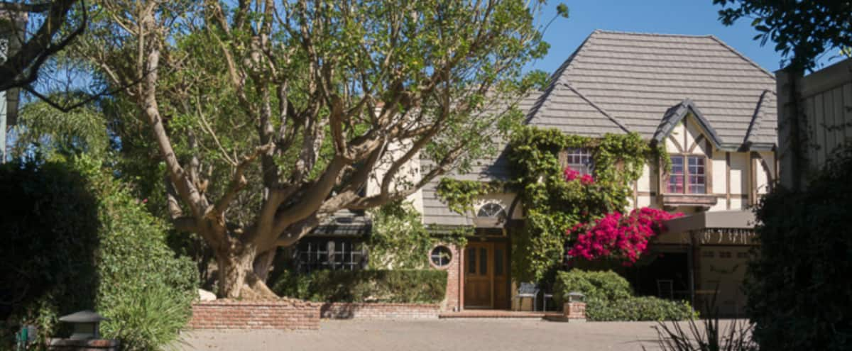 Large Tudor w/Long Driveway & Outdoor Amenities in Chatsworth Hero Image in Chatsworth, Chatsworth, CA